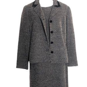 Talbots Velvet Jacket and Dress